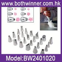 DA119 Icing Piping Nozzles Pastry Tips Wedding Party Cream Cake Decoration Pack of 24