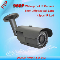 New Hot 960P 1.3 Megapixel IP Camera Security Surveillance Good Night Vision Image High Resolution Camera