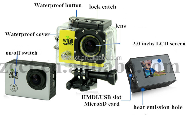 Sports Action camera IP68 waterproof ct6000