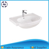 New promotion bathroom ceramic cabinet basin with good quality