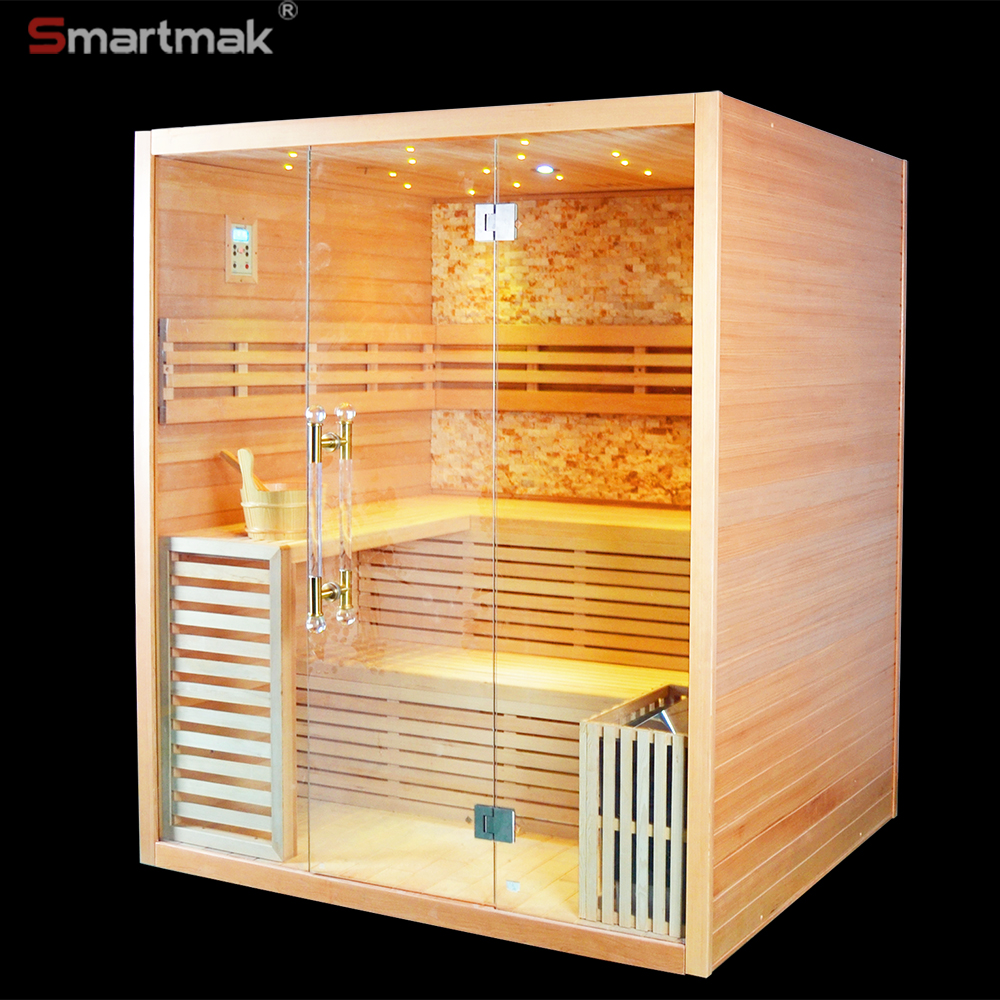 6000W Tradtional Hotel Sauna and Spa Steam Room Sauna equipment