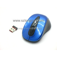 High quality 10M 2.4G USB mini wireless bluetooth optical mouse for pc
