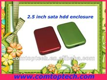 "2.5"" sata hdd enclosure usb3.0 hard disk case support 1TB capacity"