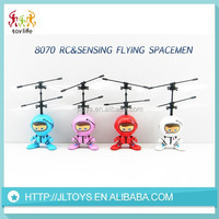 2015 China manufacture hot wholesale infrared sensing flying robot toy