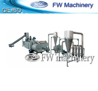 pe film recycling equipment/waste plastic recycling machine/pp pe film washing line