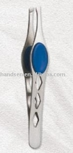 Slanted tweezers T1104