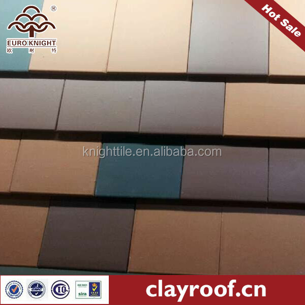 mix matching shingle clay roofing tile