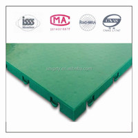 PP material non-slip plastic ground cover mate,plastic flooring mat