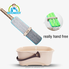 Easy squeeze hand free popular patented wet & dry cleaning floor flat hand free mop