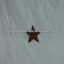 Real rusty small metal barn star wholesale