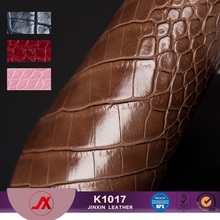 PVC Croco Leather for making handbags&sofa,Synthetic Crocodile leather,handbags material