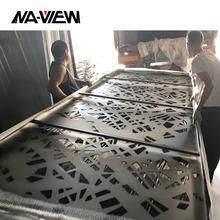 Exterior Wall Architectural Perforated Metal Aluminum Facade Cladding Panels
