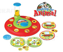 Looking for Animals Playset Table Game Educational Toy for Family Fun