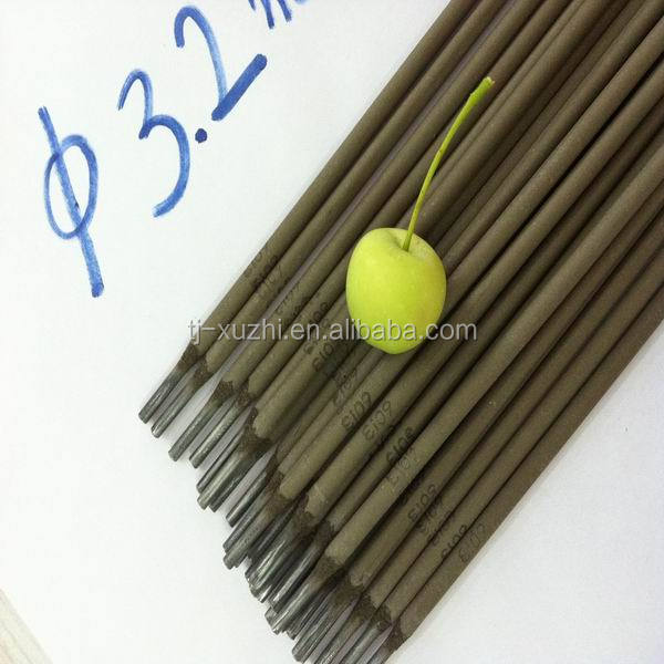 Galvanized golden bridge welding electrodes welding rods