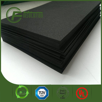 China Closed Cell Black Rubber Foam Insulation Sheets