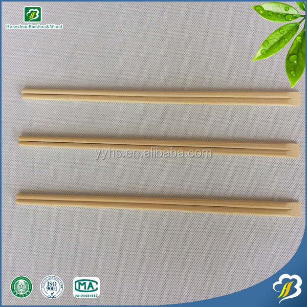 Hot selling made of 100% bamboo by professional bamboo products manufacturer Smooth and Disposable Bamboo Japanese Chopsticks