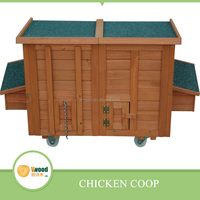 Wooden Chicken House, Chicken Coop with two Hen Cartons