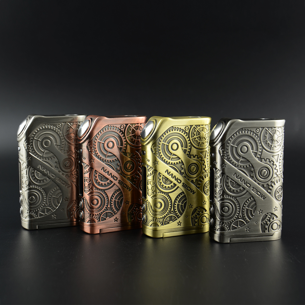 Innovative Original Design Steampunk Style Nano 120w smoking pipes vapor wholesale