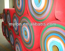 Laminated soft eva foam rolls for shoes and bags