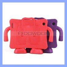Shockproof Kids Suspender Trousers Soft EVA Foam Stand Cover Case for iPad 2 3 4
