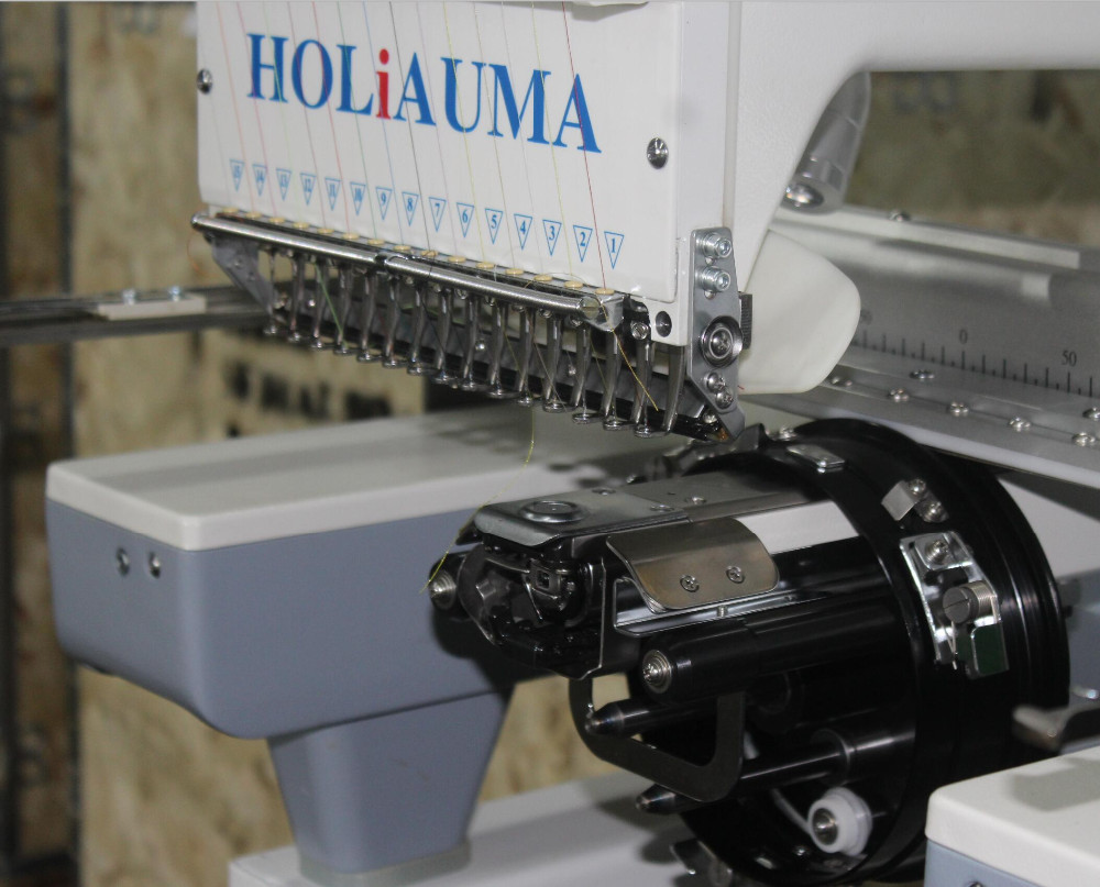 China cheap price computer single head happy embroidery machine with 15 thread colors hot sale