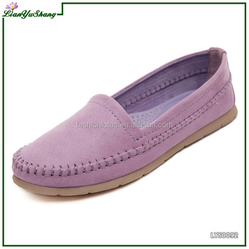 Women Loafers Lady Ballerina Flat Shoes Woman Summer Flats Comfortable Soft