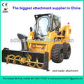 snow blower for skid steer loader (skid loader attachment,bobcat attachment)