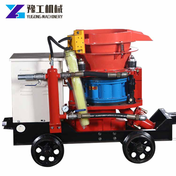 China wholesale portable coal mine shotcrete machine safety equipment with cheap price