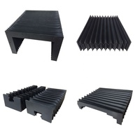 High quality accordion machine rectangular rubber dust cover