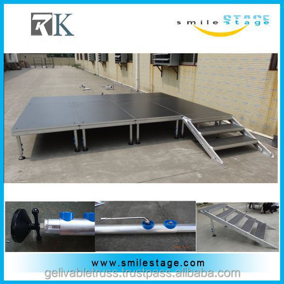Concert Great Loading Mobile Adjustable Stage Manufacturing