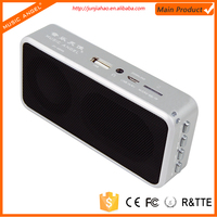 Shenzhen branded speaker factory produce fm speaker with sd and usb