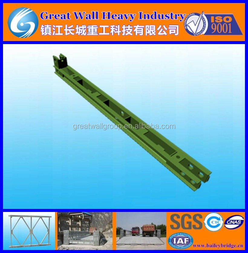HD200 Bailey bridge Female End Post, bailey Female End Post for famous truss bridges, Female End Po with cheap and high quality