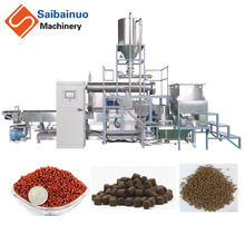 2017 new product automatic floating fish feed production line extruder machine