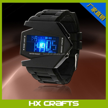 New arrival products silicone colors digital LED watch design your own wristbands water resistant men led watch