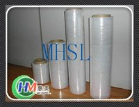 China PVC raw material plastic wrapping stretch film for work home packing products