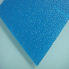 PC Particle Embossed Panels 100% Virigin Polycarbonate Resin UV Coating Granule Sheets 10 Years Guarantee 2/4/6mm