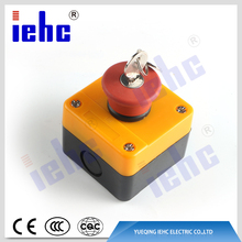 XAL series waterproof mushroom push button switch control box / station