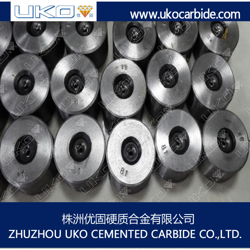 YG6 tungsten carbide copper wire drawing die for cable mills