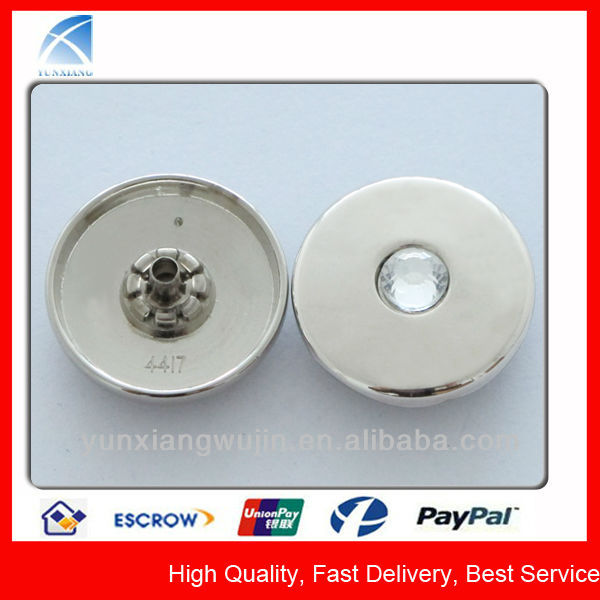 YX4416 Good Sale Cheap Diamond Snap Button