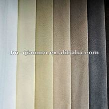 spun velvet with polyester and cotton for sofa fabrics