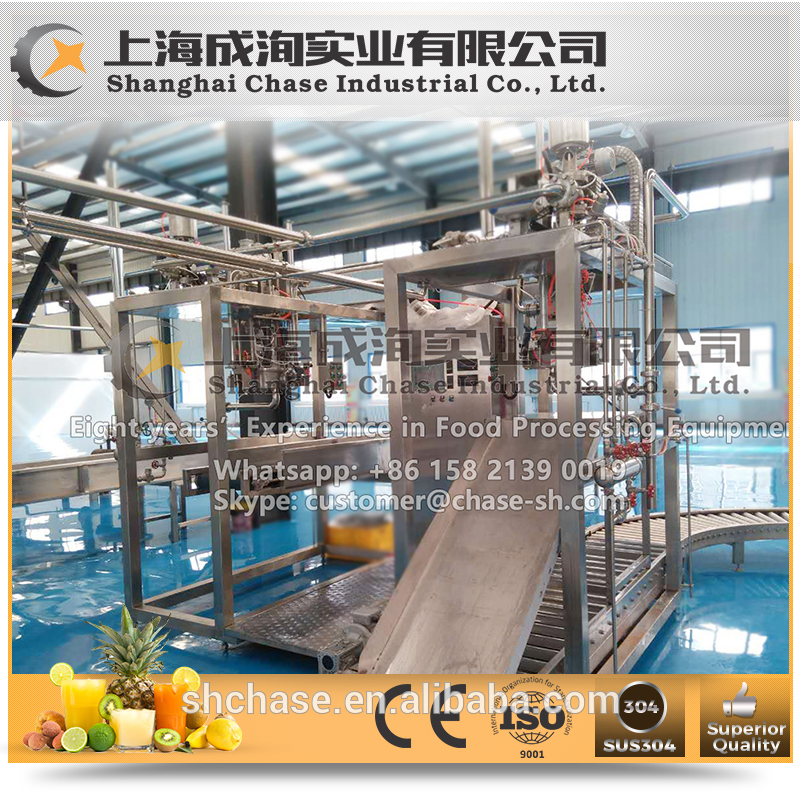 Professional durable orange fruit juice processing line