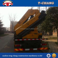 8ton jib crane knuckle boom crane truck mounted crane 12ton from china with ISO
