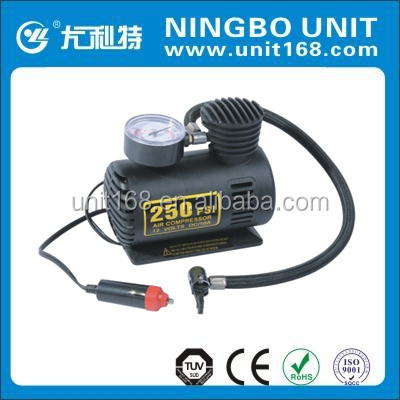 Ningbo Unit plastic tire inflator with CE certification