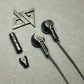 AUGLAMOUR RX-1 Full Metal In-ear Earphone HIFI Dynamic Monitor Audiophile Earbuds