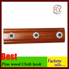 Wholesale wooden peg hook hanger in good quality