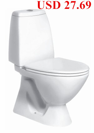 Europe Popular bathroom ceramic Jet Siphonic Close-coupled Toilet