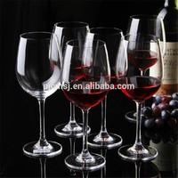 2015 Luxury Pure Crystal Wine Glass for Drinking & Home Uses disfferent shape