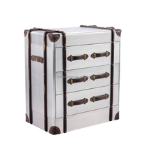 Aluminum antique cabinet for living room and hotel project