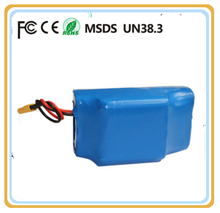 Li-Ion Type and electrice twisting car Application 36v 4.4ah 10s2p lithium battery pack