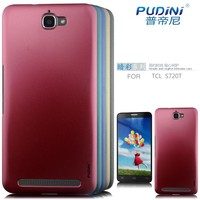 2014 PUDINI Dark color series wholesale pc hard back case for Alcatel One Touch Flash 6024D